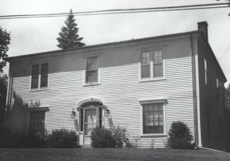 Modern day Picture of Dr. Campbell House (home of Warren Historical Society)