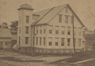 picture of The Woolen Mill from 1871
